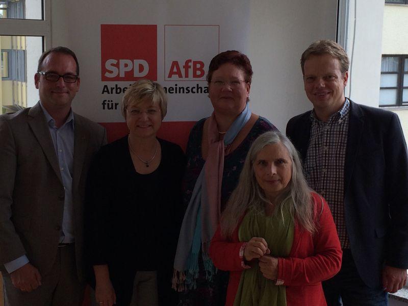 Frauke Heiligenstadt zu Gast der AfB-Nordkonferenz