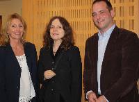 Ministerin Wara Wende mit Gitta Neemann-Güntner & Ulf Daude