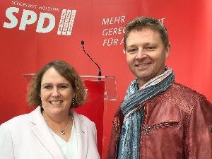 Katrin Fedrowitz und Reimer Rathje