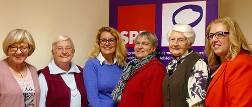 Landesfrauenkonferenz 2017, Kieler Delegation Foto skw