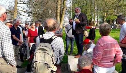 Revolutionsrundgang mit Rolf Fischer