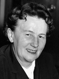 Ida Hinz, ehem. Stadtpräsidentin, 1985 (Foto Stadtarchiv Kiel, Nafzger)