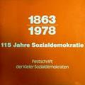 Broschüre 115 Jahre Sozialdemokratie