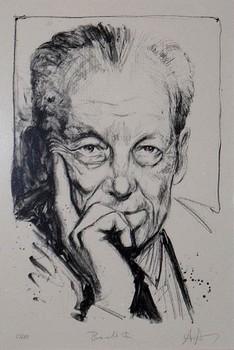 Zeichnung von Willy Brandt, zur Verfügung gestellt von Norbert Gansel.