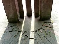 Bodenplatte Langemarck-Denkmal
