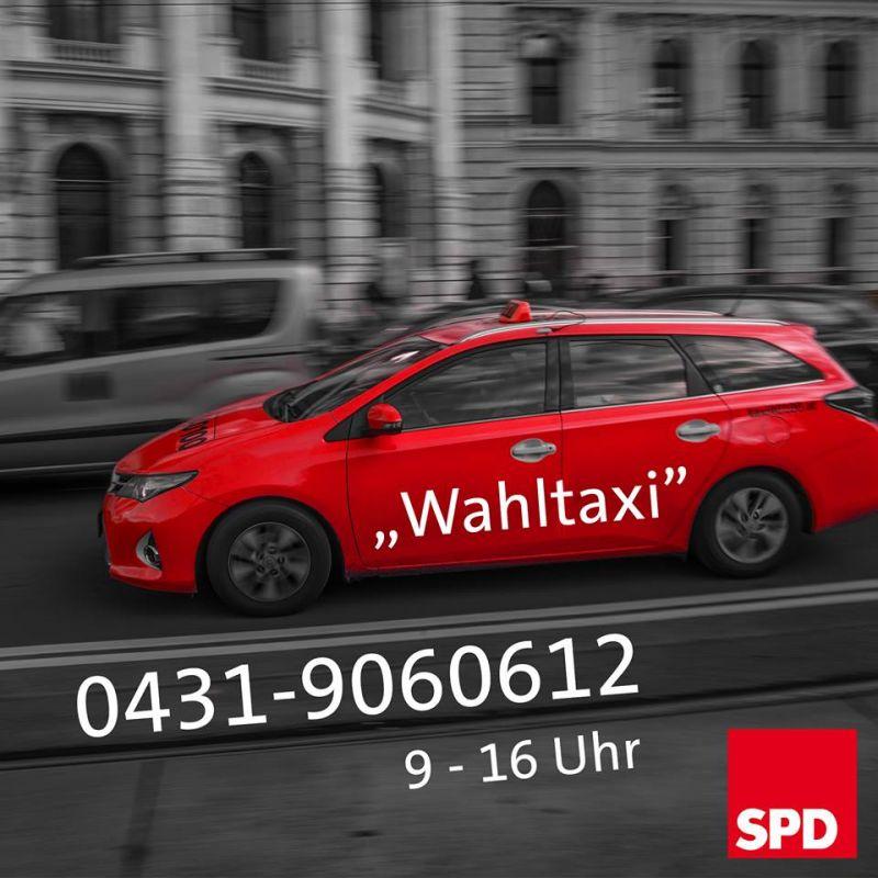Wahltaxi Telefon 0431-9060612