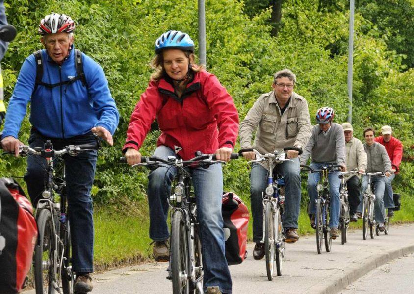 SPD Bordesholm auf Radtour durch die Gemeinde
