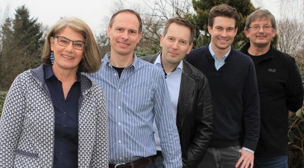 Das Team der SPD Felde: Petra Paulsen, Andreas Malzahn, Justus Fricke, Johann Engel, Klaus Stamm
