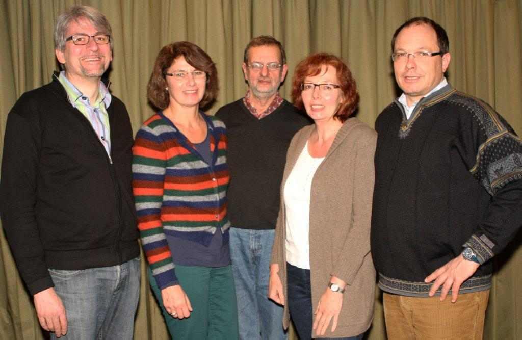 v.li.: Peters, Paulsen, Fleck, Liedtke, Kreft