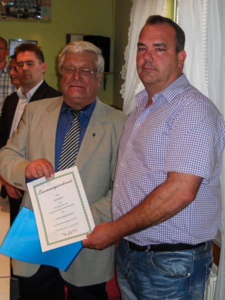 Vereidigung Ralf Spilker als 1.stellv.Bürgermeister