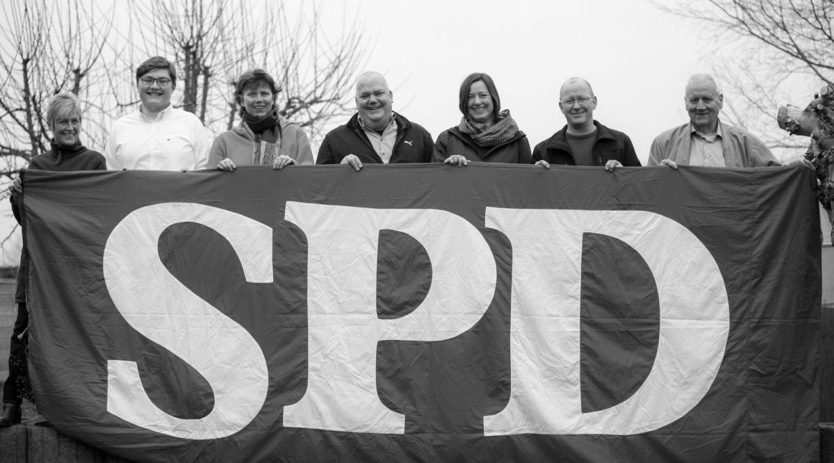 Kandidat*innen des SPD OV Langwedel zur Kommunalwahl 2018