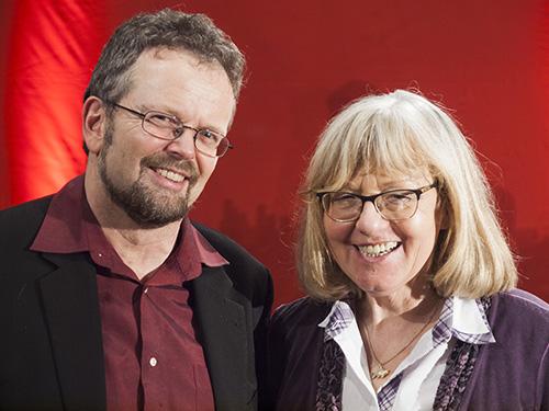 Ulrike Rodust und Martin Tretbar-Endres (Bild: D.Drescher)