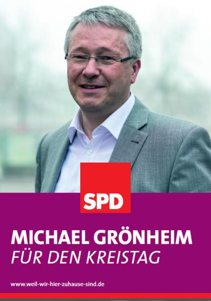 Michael Grönheim in den Kreistag WK15 Berkenthin