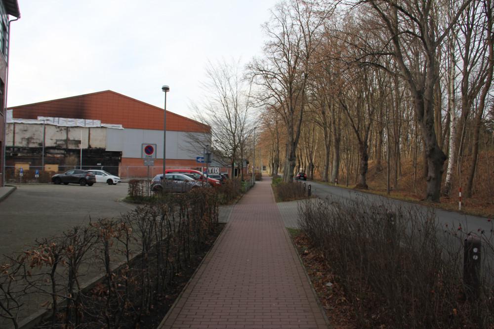 Mehrzweckhalle (Foto: SPD-Büchen 28.01.2021)