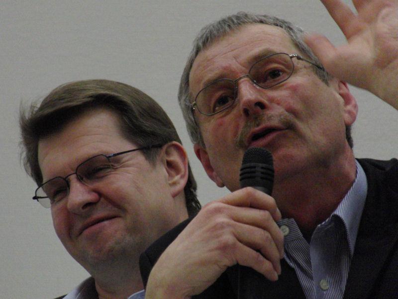 Foto: Ralf Stegner und Willi Voigt