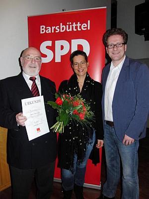 Foto:v.l.n.r.: Peter Hartmann, Nina Scheer, Martin Haber