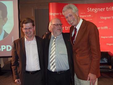 Ralf Stegner - Andreas Beran - Henning Scherf