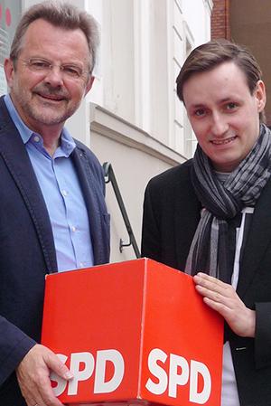 Franz Thönnes und Alexander Wagner