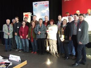 Die Delegierten aus Schleswig-Flensburg