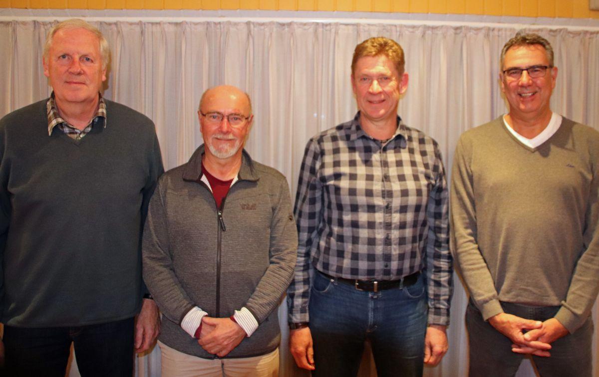 Hans-Georg Hansen, Gerd Stehr, Jörg Damberg, Udo Zacharias