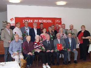 Jubilare, Foto: Gudrun Wrobel