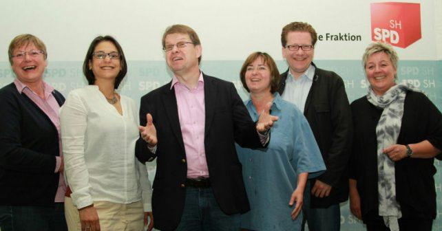 Foto: Der Geschäftsführende Fraktionsvorstand, v.l.: Eickhof