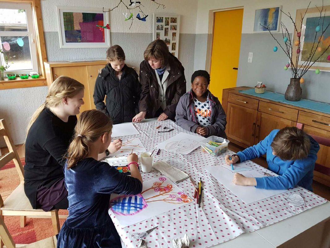 Besuch im Kinder-und-Jugendhaus Hof Willenscharen
