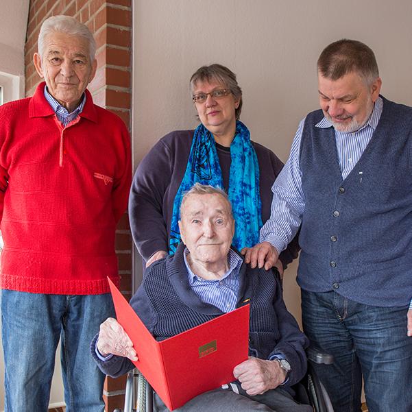 50 Jahre in der SPD - Hartwig Buhr wird geehrt