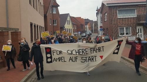 Demonstration am 30.04.2021