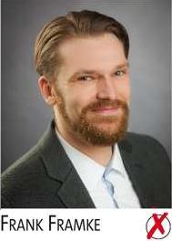 Frank Framke im Wahlbezirk 2