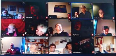 Online-Sitzung der SPD-Wilster
