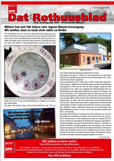 Rothuusblad Nr. 33