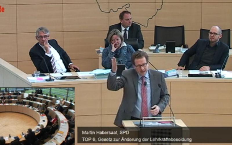 Foto: Landtagsdebatte