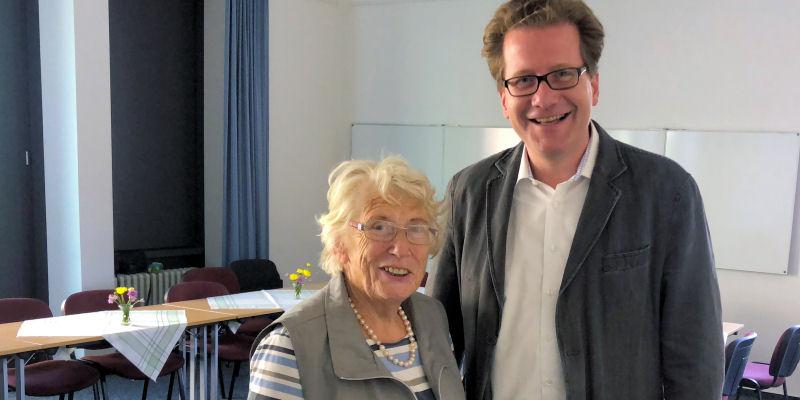 Marietta Exner und Martin Habersaat
