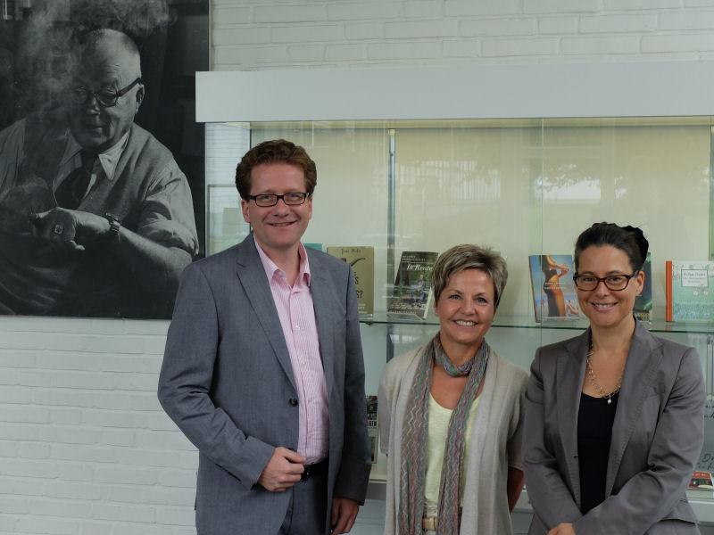 Foto: Besuch beim Rowohlt Verlag in Reinbek