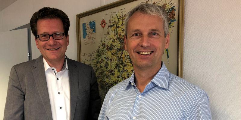 Martin Habersaat und Thomas Schreitmüller 2018