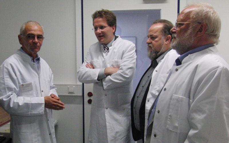 Foto: Besuch beim UKSH (2011)