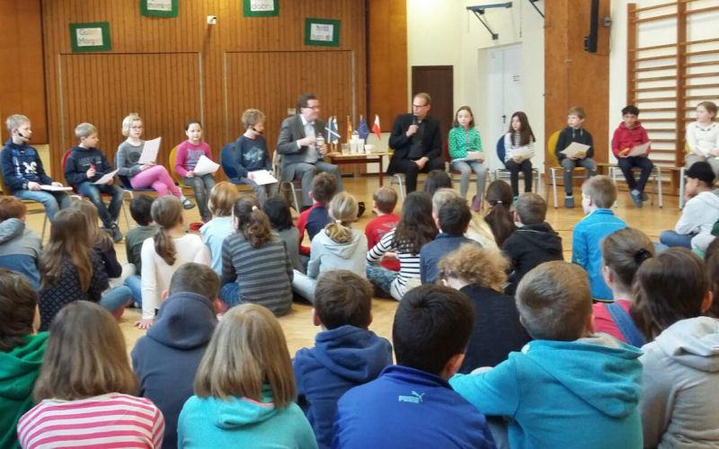 Europatag Grundschule Mühlenredder