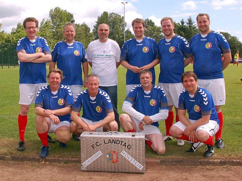 Foto: FC Landtag mit Peter Nilsson