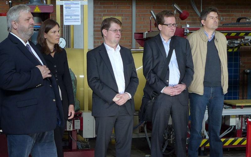 Foto Maschinenbau: Litz, Helbig, Stegner, Habersaat, Rother