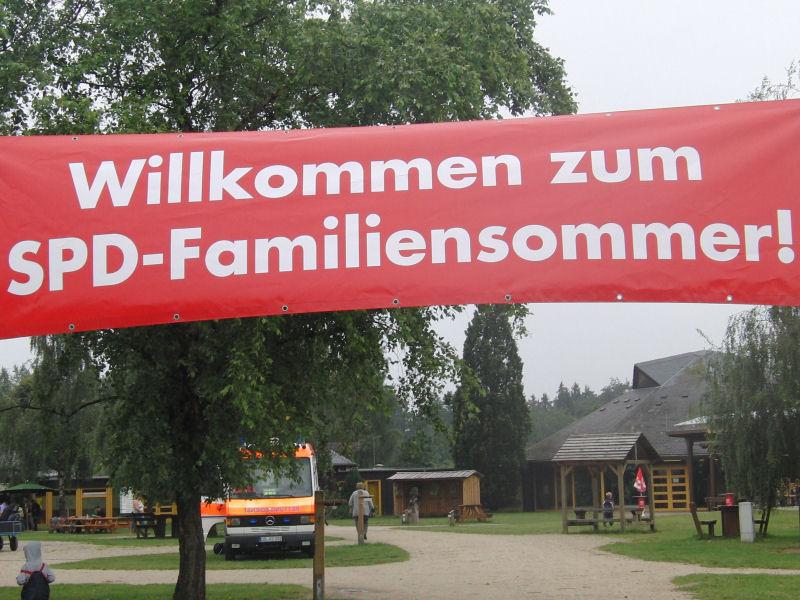 Plakat: Familiensommer