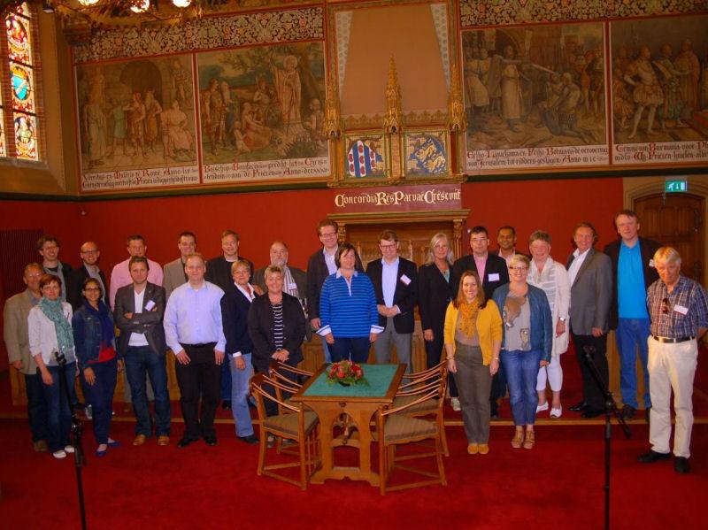 Foto: Besuch im friesischen Regionalparlament