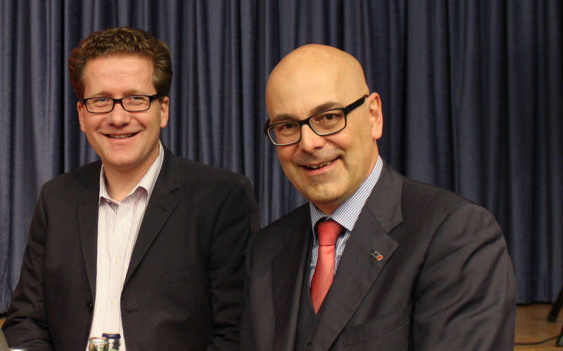 Foto: Martin Habersaat und Torsten Albig