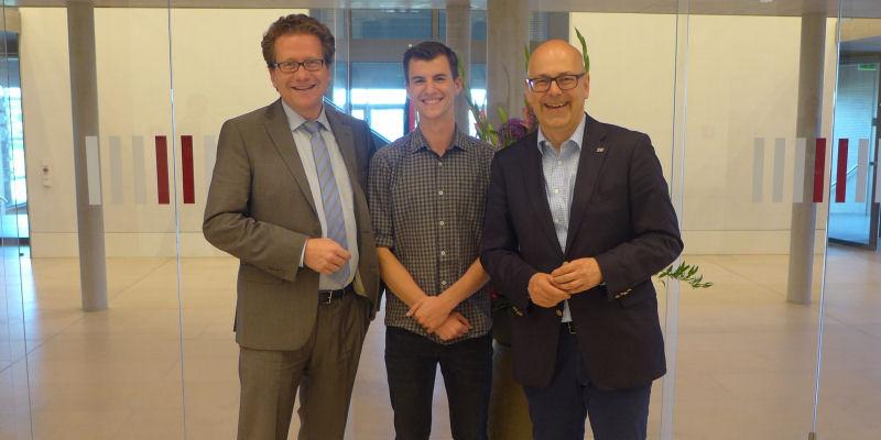 Foto: Martin Habersaat, Mika Bättjer und Torsten Albig