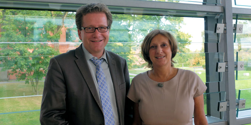Foto: Martin Habersaat und Britta Ernst