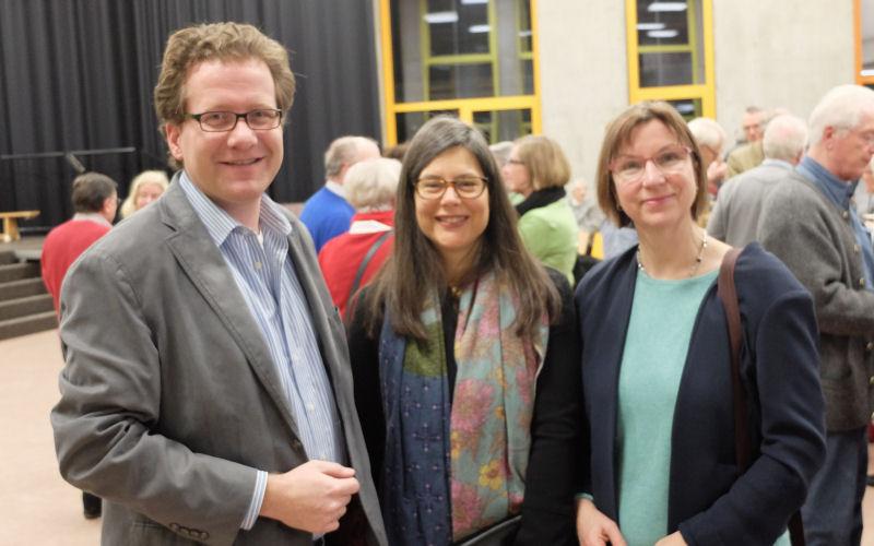 Foto: Martin Habersaat, Dr. Nina Scheer und Sibylle Hampel