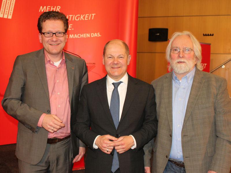 Foto: Habersaat, Scholz, Lauterbach
