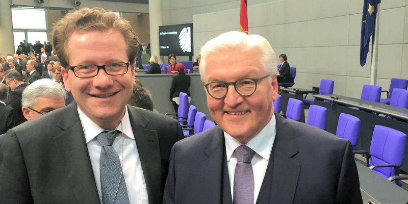 Martin Habersaat und FRank-Walter Steinmeier