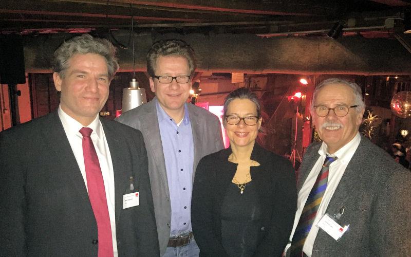 Metin Hakverdi, Martin Habersaat, Nina Scheer, Gerhard Lein