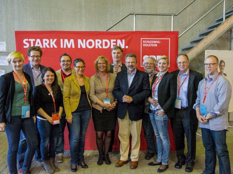 Foto: Ein Teil der Stormarner Delegation beim LPT